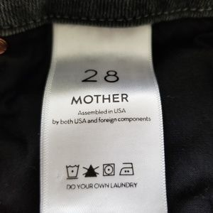"MOTHER Jeans - Mother ""The Looker"" Denim High Waisted Jeans"